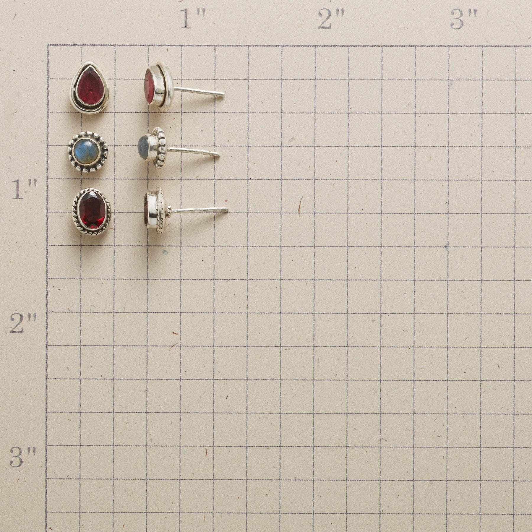FINELY FRAMED EARRING TRIO: View 2