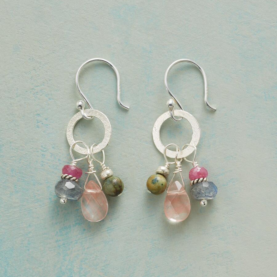 PINK PRELUDE EARRINGS