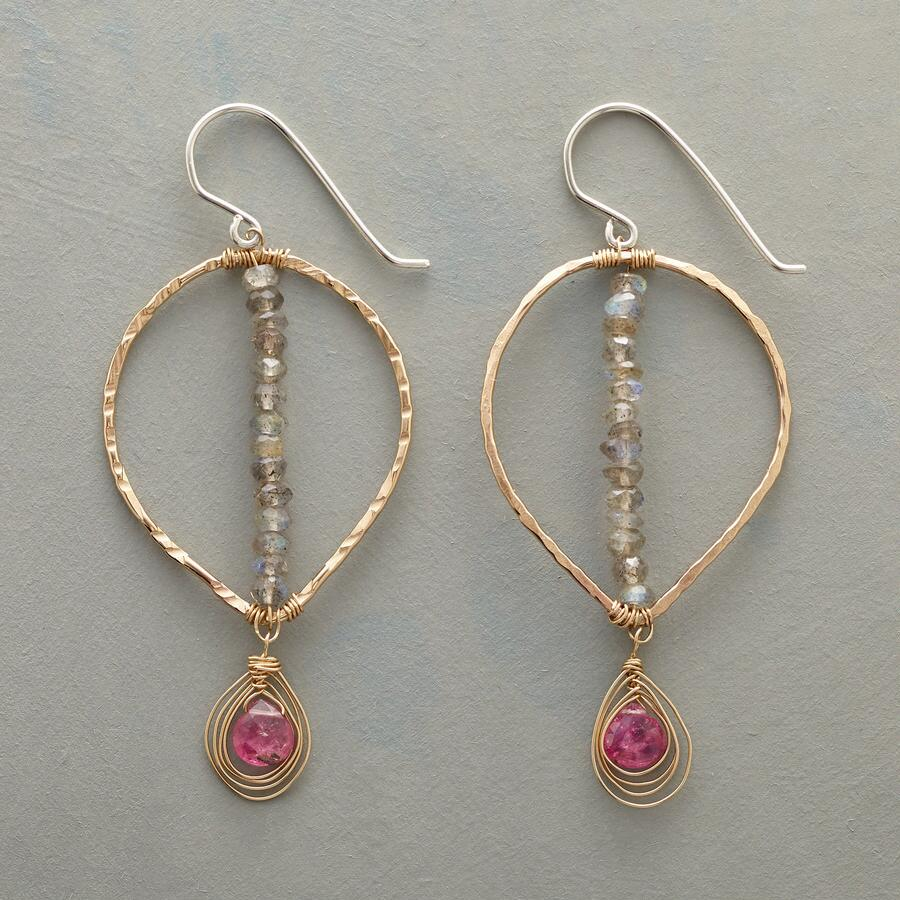 POINTEDLY PINK EARRINGS