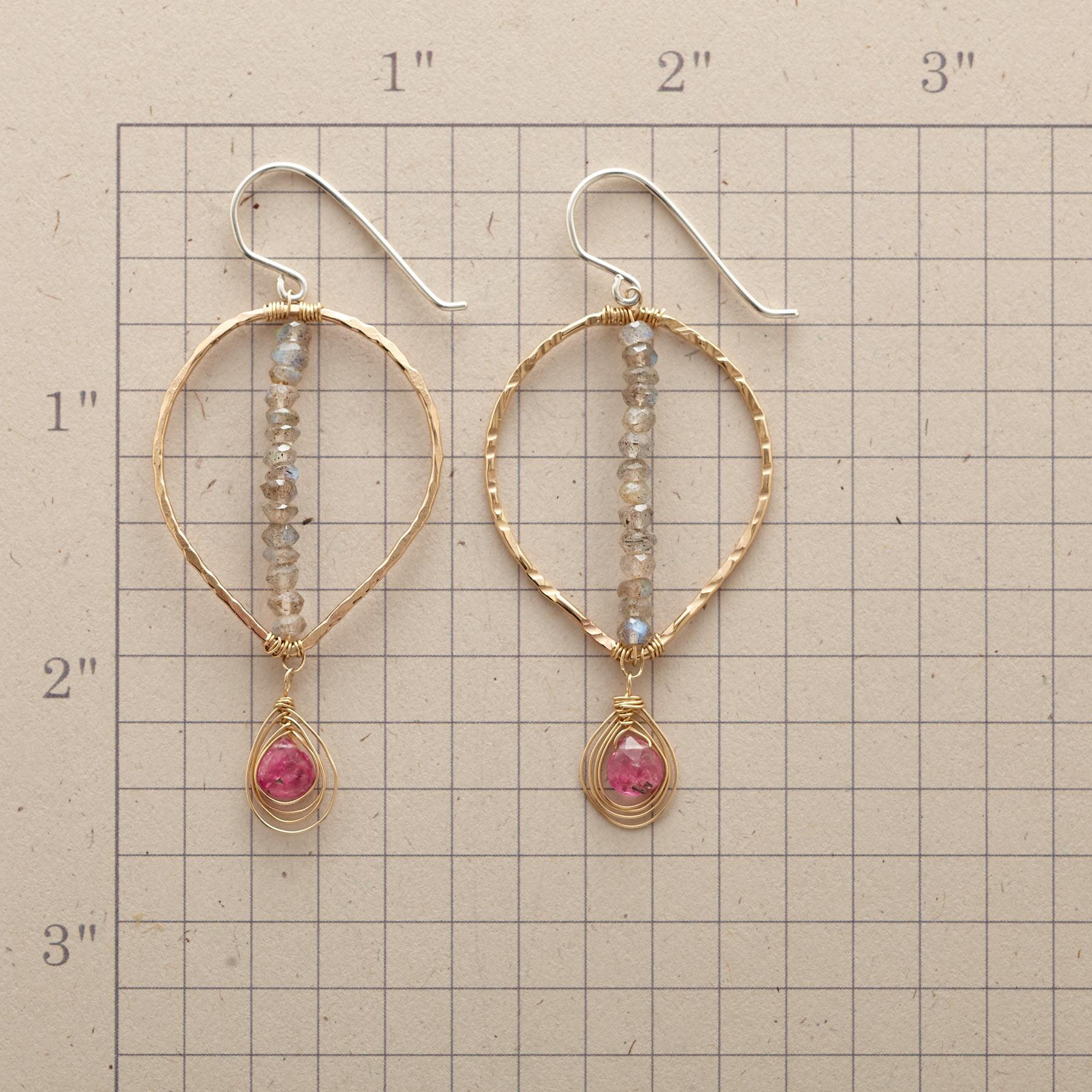 POINTEDLY PINK EARRINGS: View 2