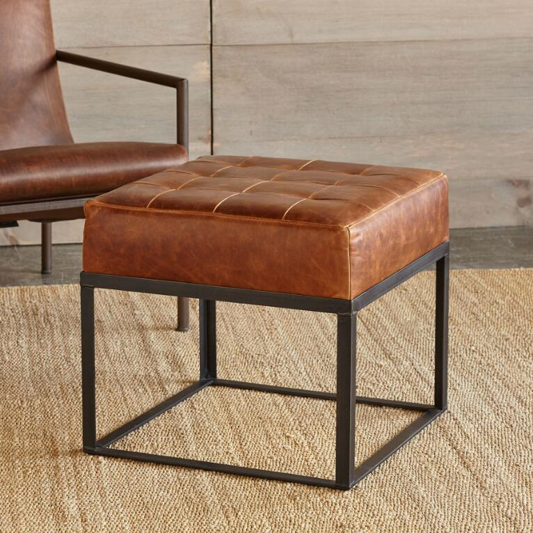 HACIENDA LEATHER BENCH