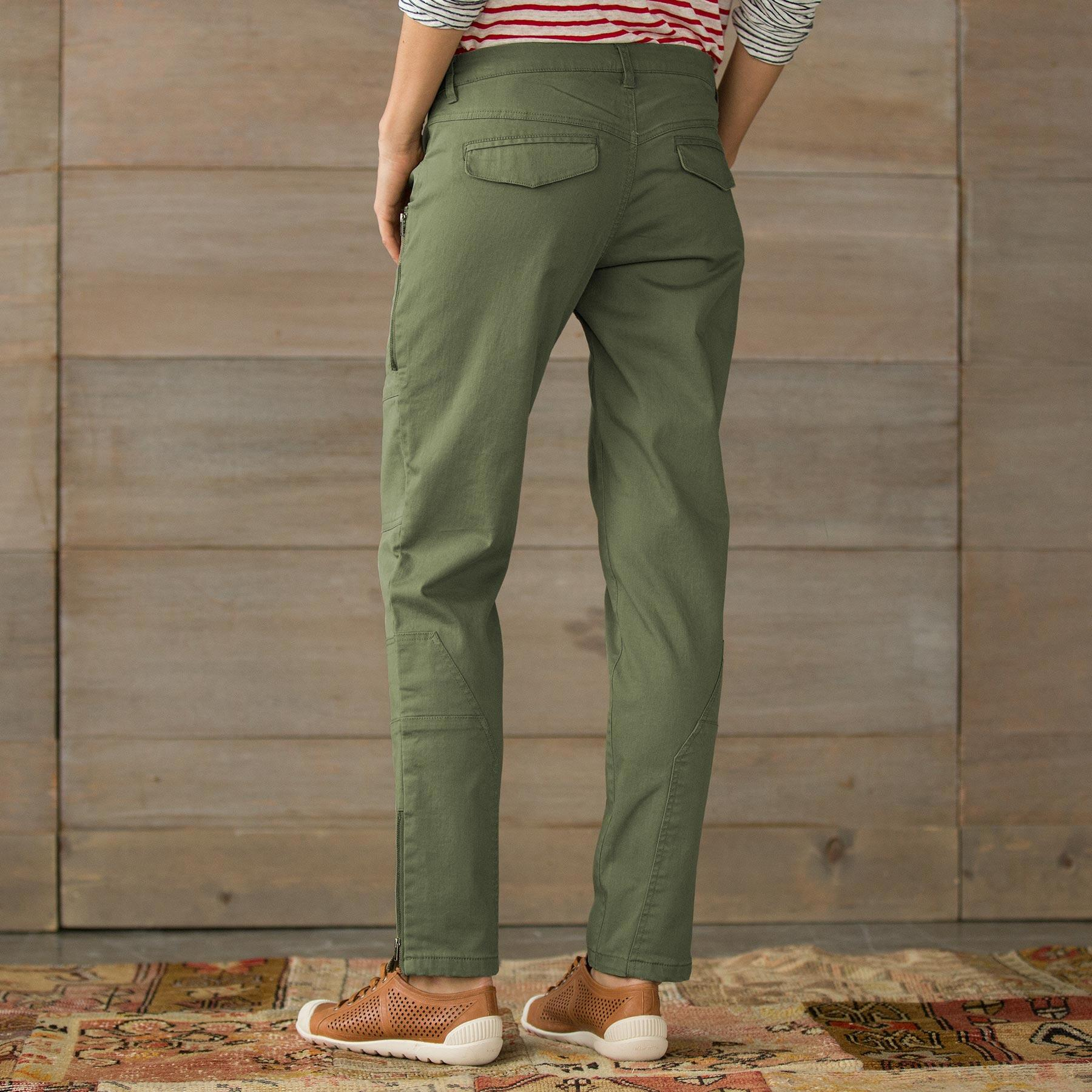 WILDHEART SLIM CARGO PANTS-PETITE: View 2