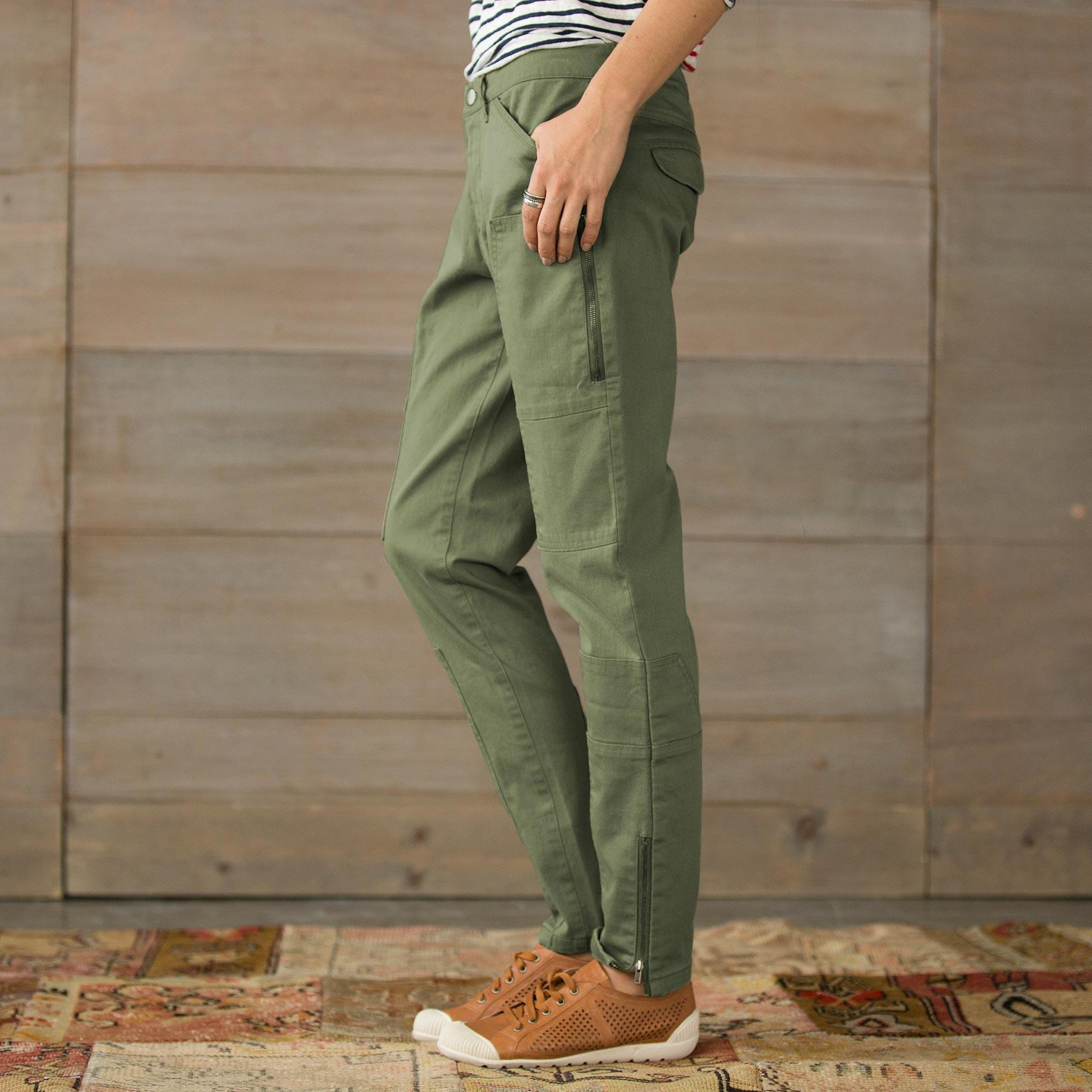 WILDHEART SLIM CARGO PANTS-PETITE: View 3