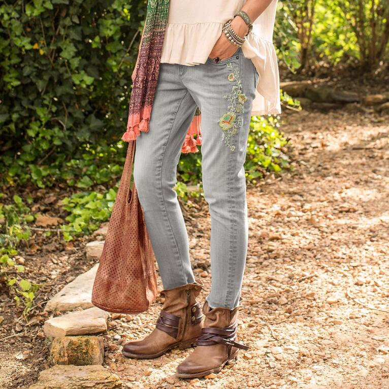 MARILYN HOLLYHOCK JEANS BY DRIFTWOOD