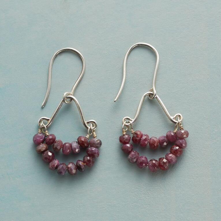 HAPPIEST RUBY EARRINGS