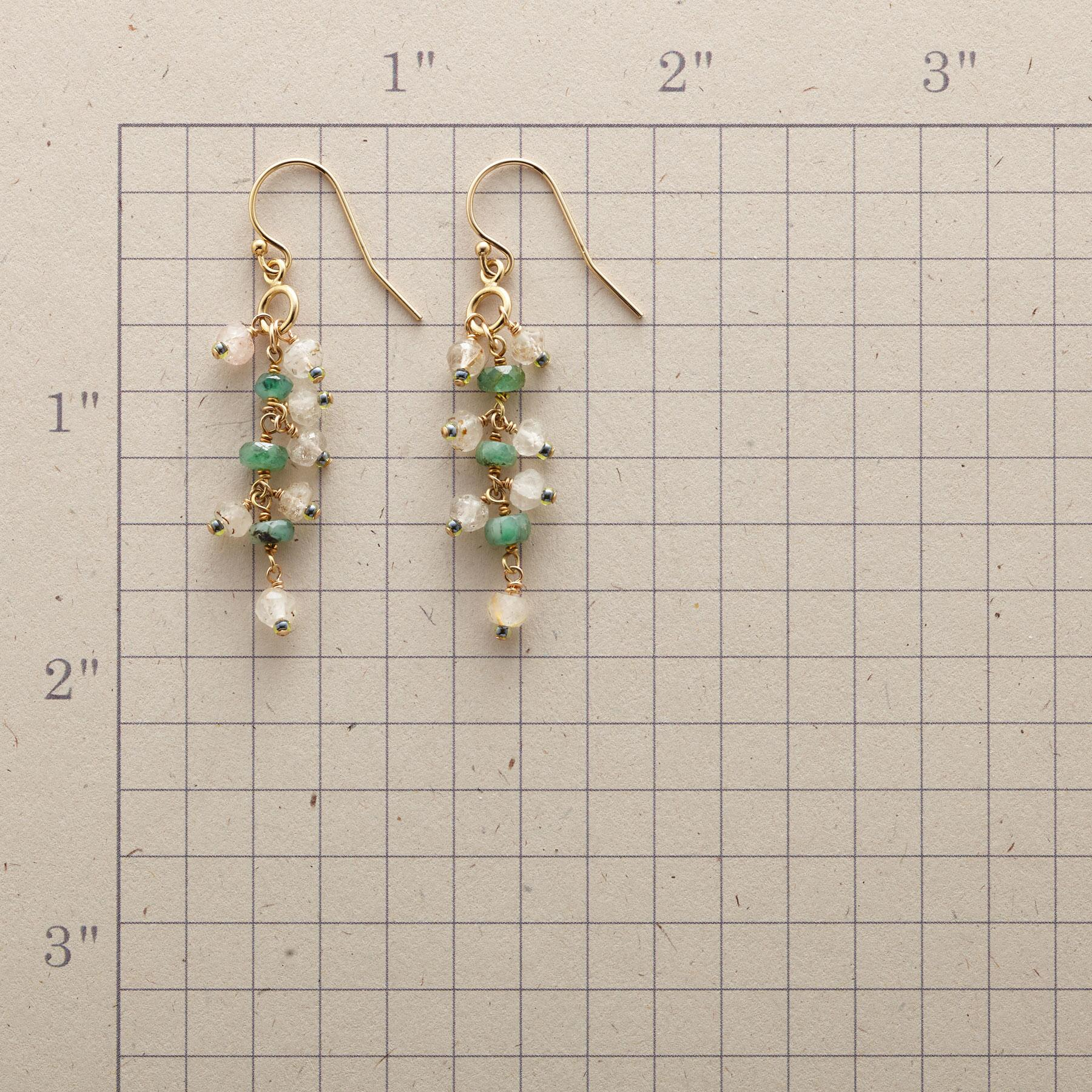 GOLDEN SLIVERS EARRINGS: View 2