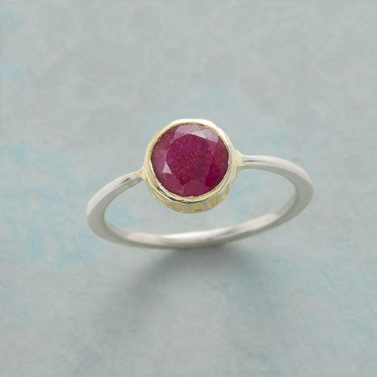 ROUND IS A RUBY RING