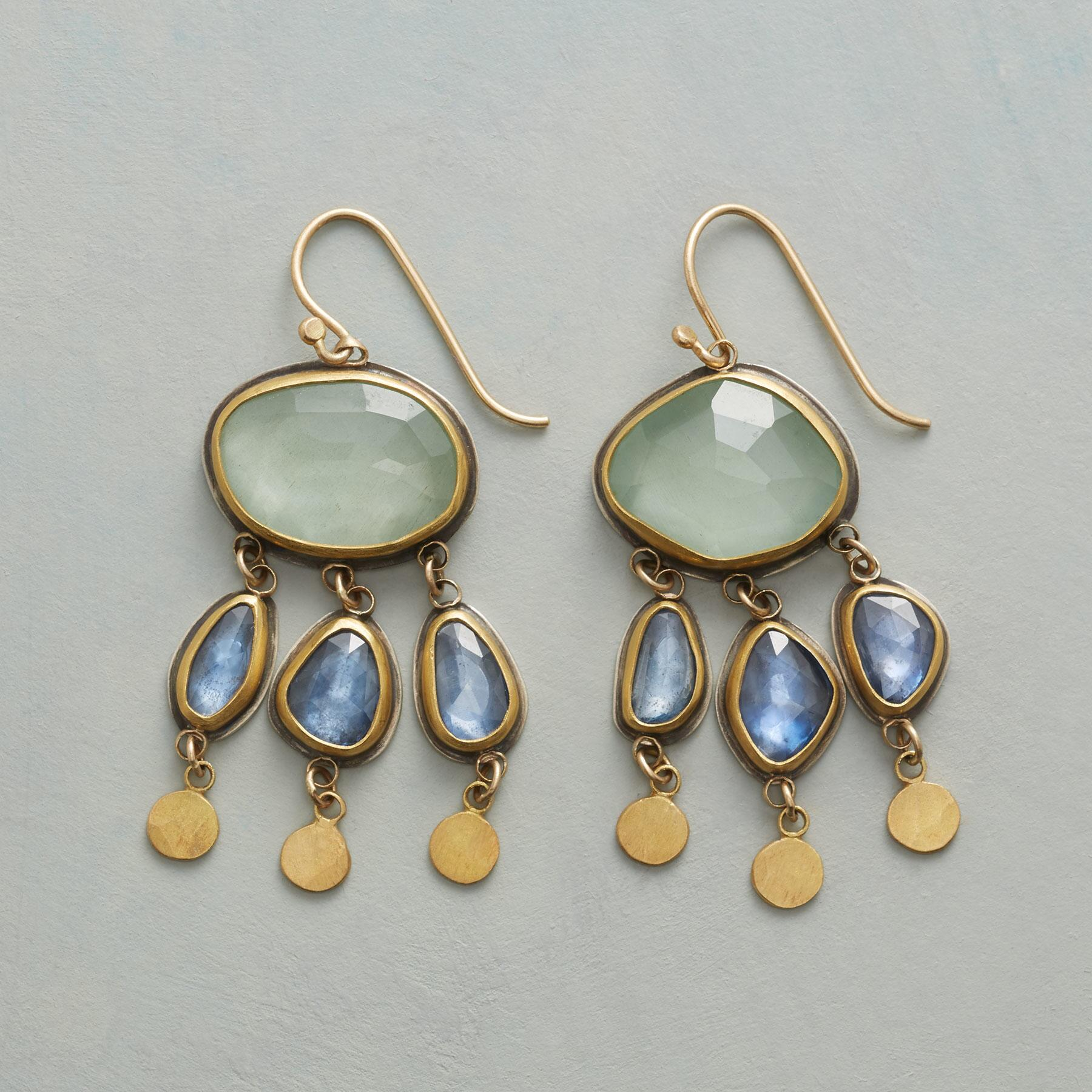 DAPPLED SKY EARRINGS: View 1