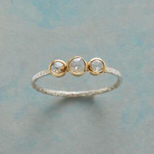 DIAMOND TRIAD RING