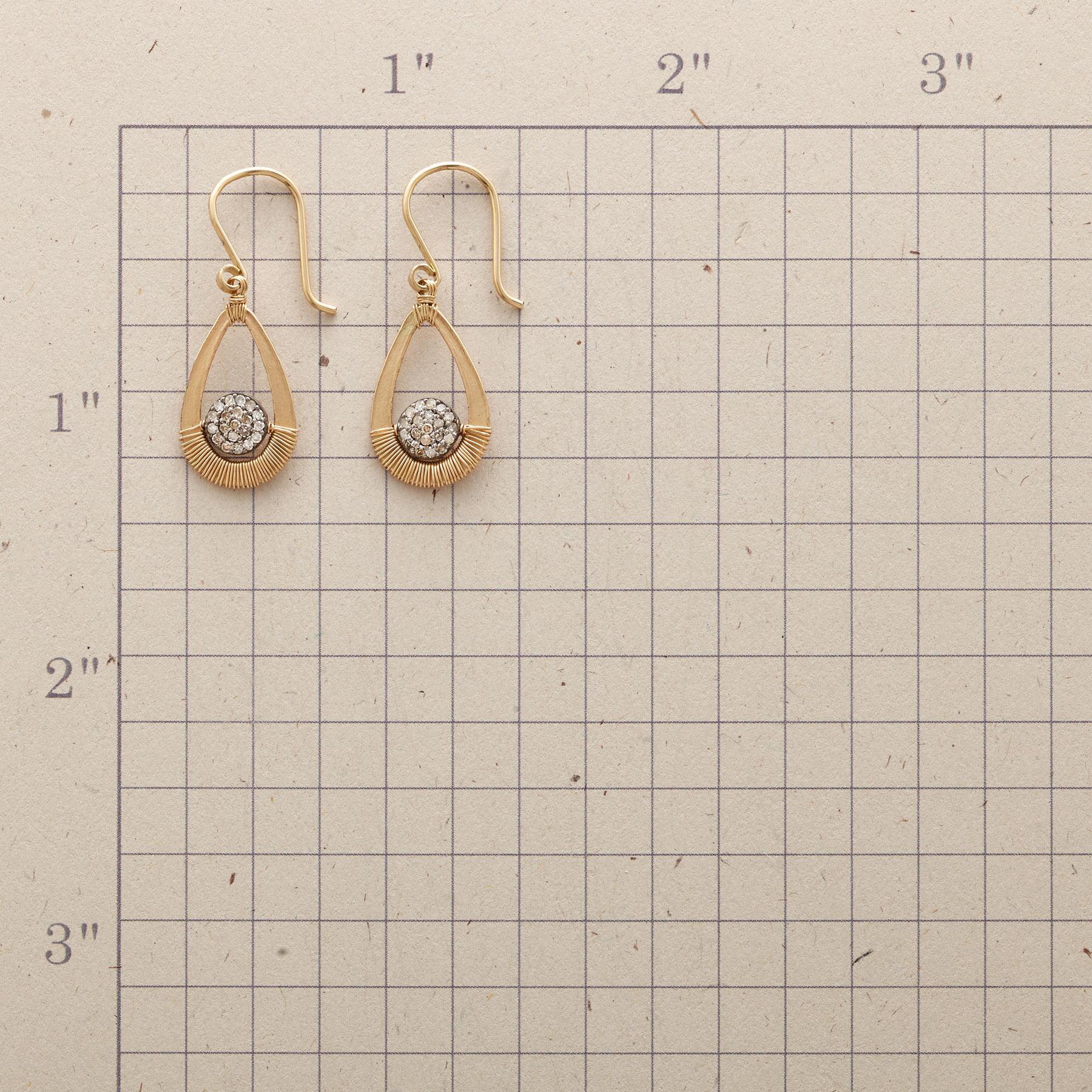 DIAMOND SUNSET EARRINGS: View 2