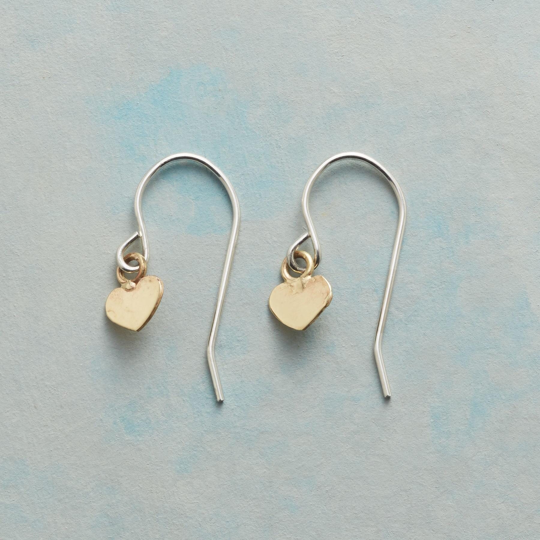 HEARTS OF GOLD EARRINGS: View 1