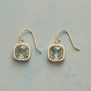PALE PILLOW EARRINGS