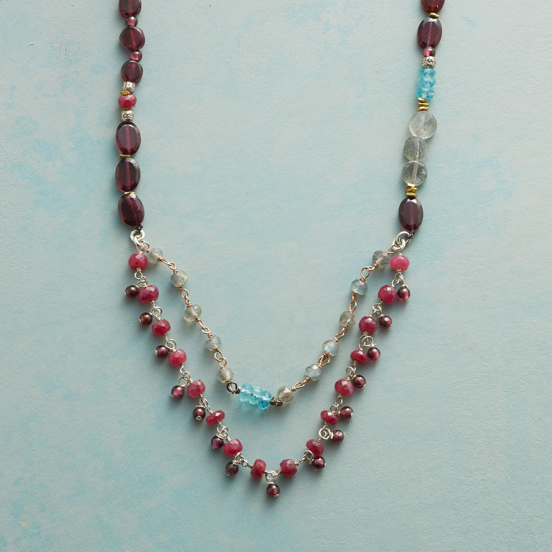 GEMSTONE PARADE NECKLACE: View 1
