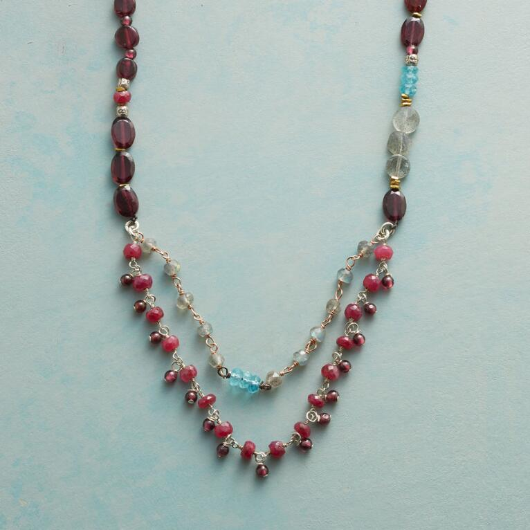 GEMSTONE PARADE NECKLACE