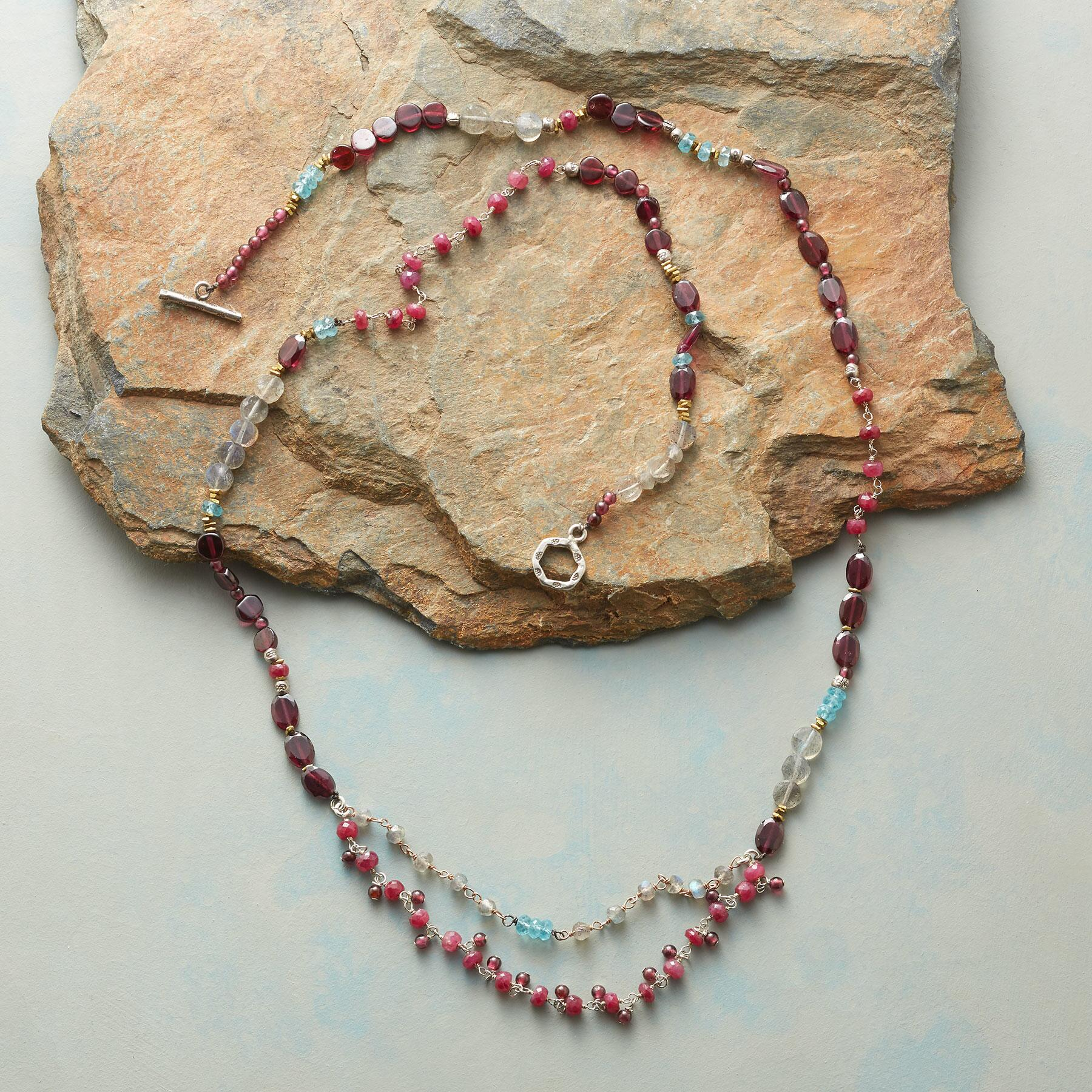 GEMSTONE PARADE NECKLACE: View 2