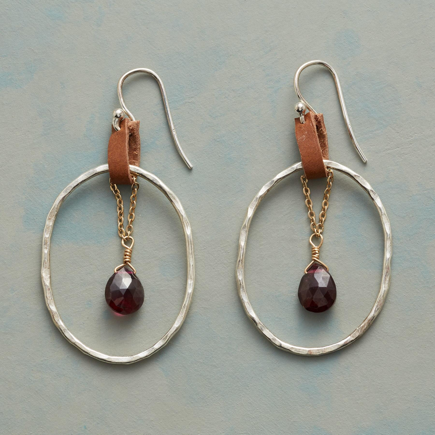 COWGIRL BOOTSTRAP EARRINGS: View 1