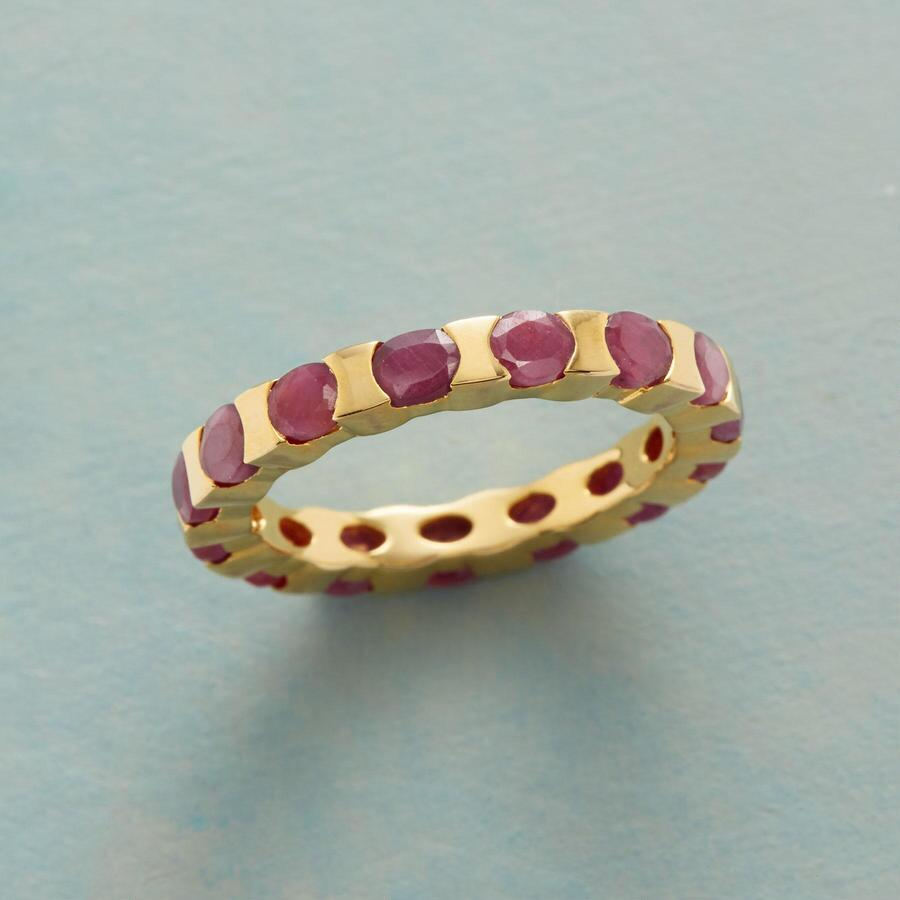 ROUNDTRIP RUBY RING