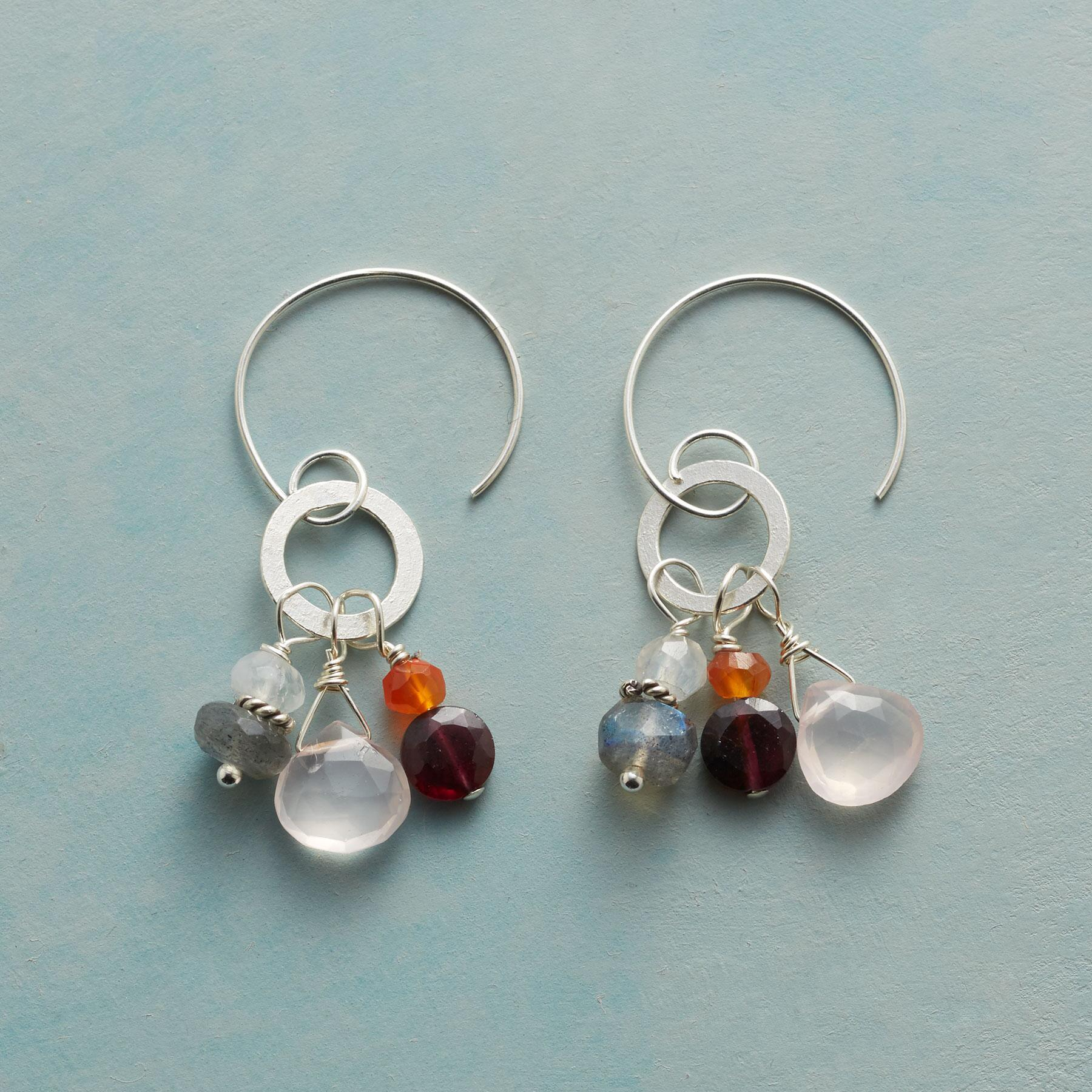 MORE THAN GARNET EARRINGS: View 1