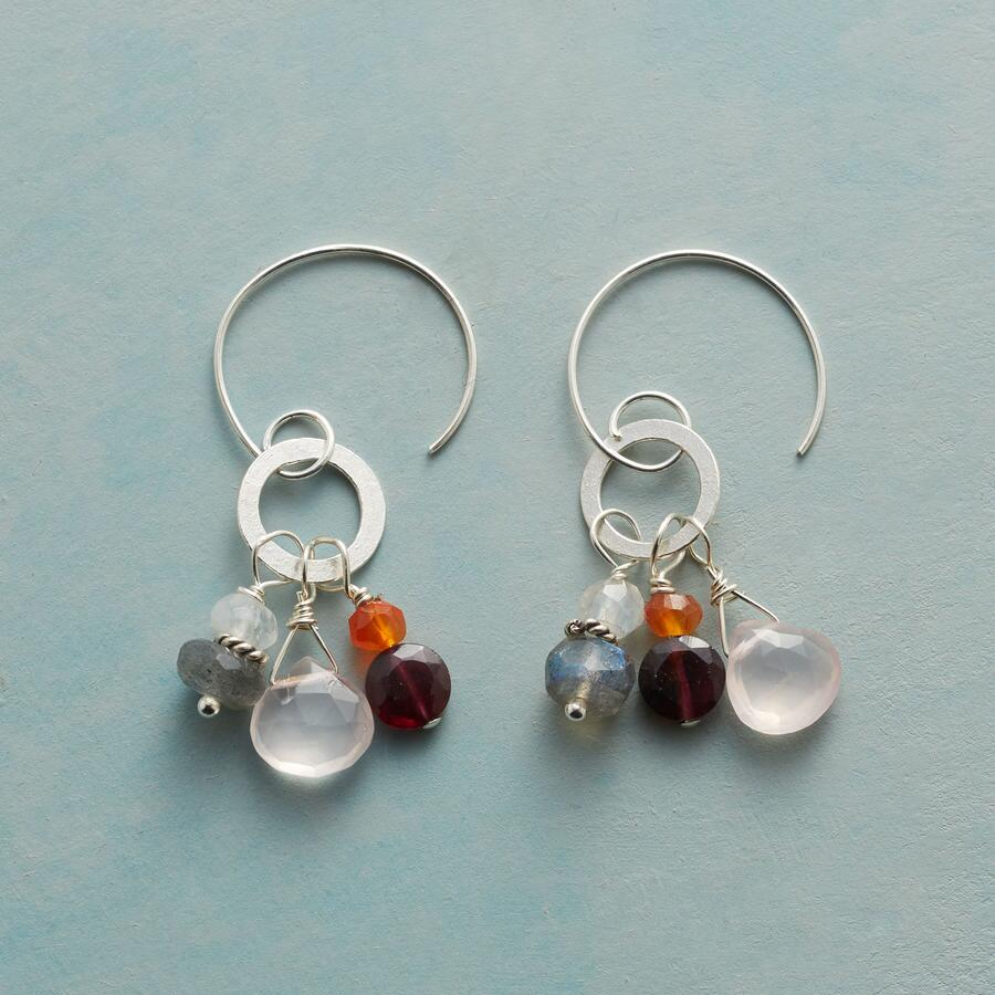 MORE THAN GARNET EARRINGS