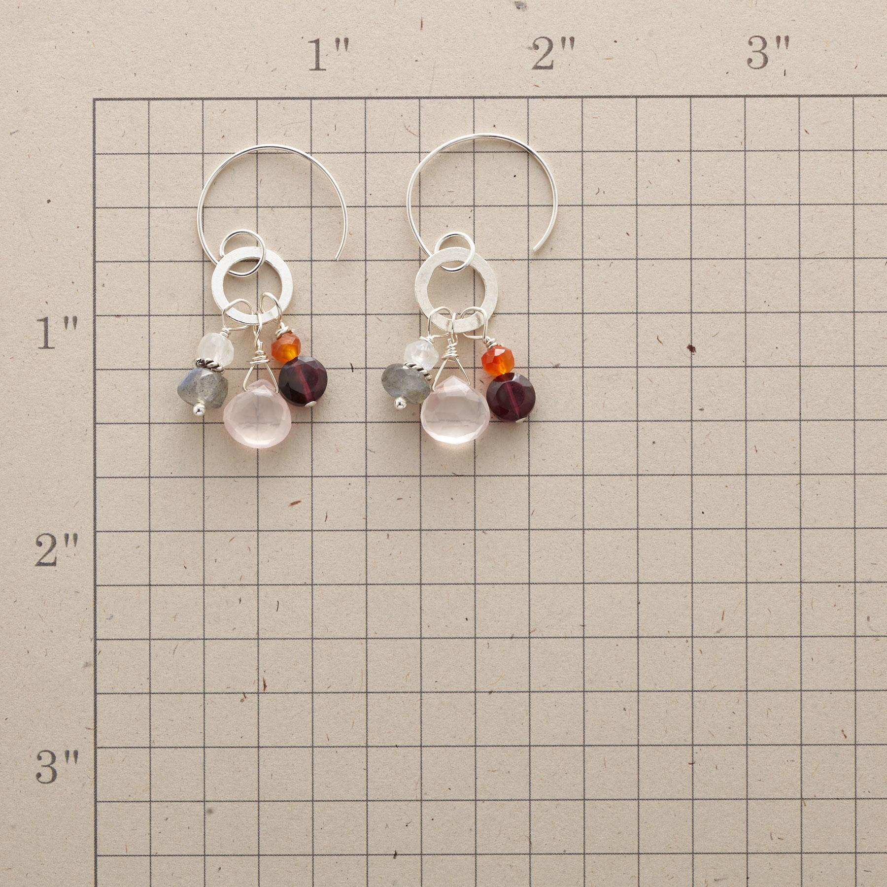 MORE THAN GARNET EARRINGS: View 2