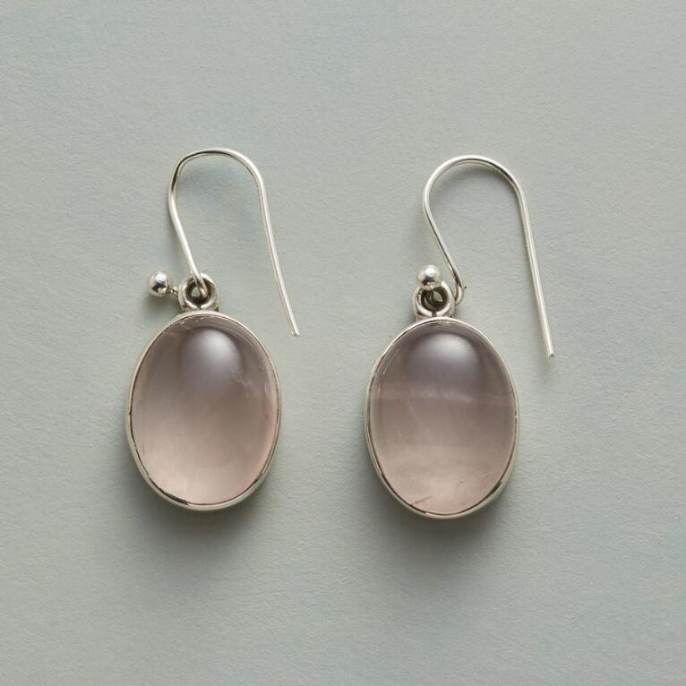 ROSY WINDOW EARRINGS