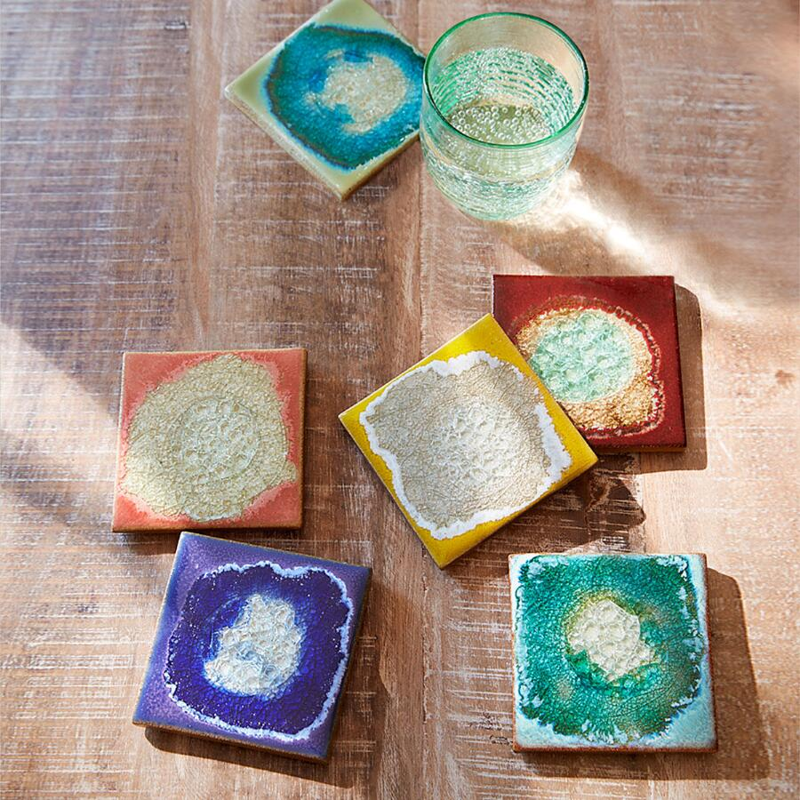 GEODE COASTERS S/6