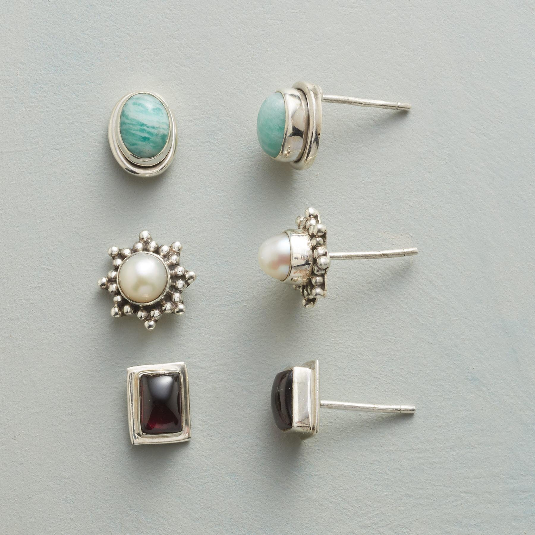 THREE FOR YOU EARRING TRIO: View 1