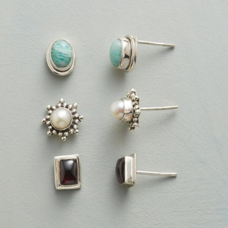 THREE FOR YOU EARRING TRIO