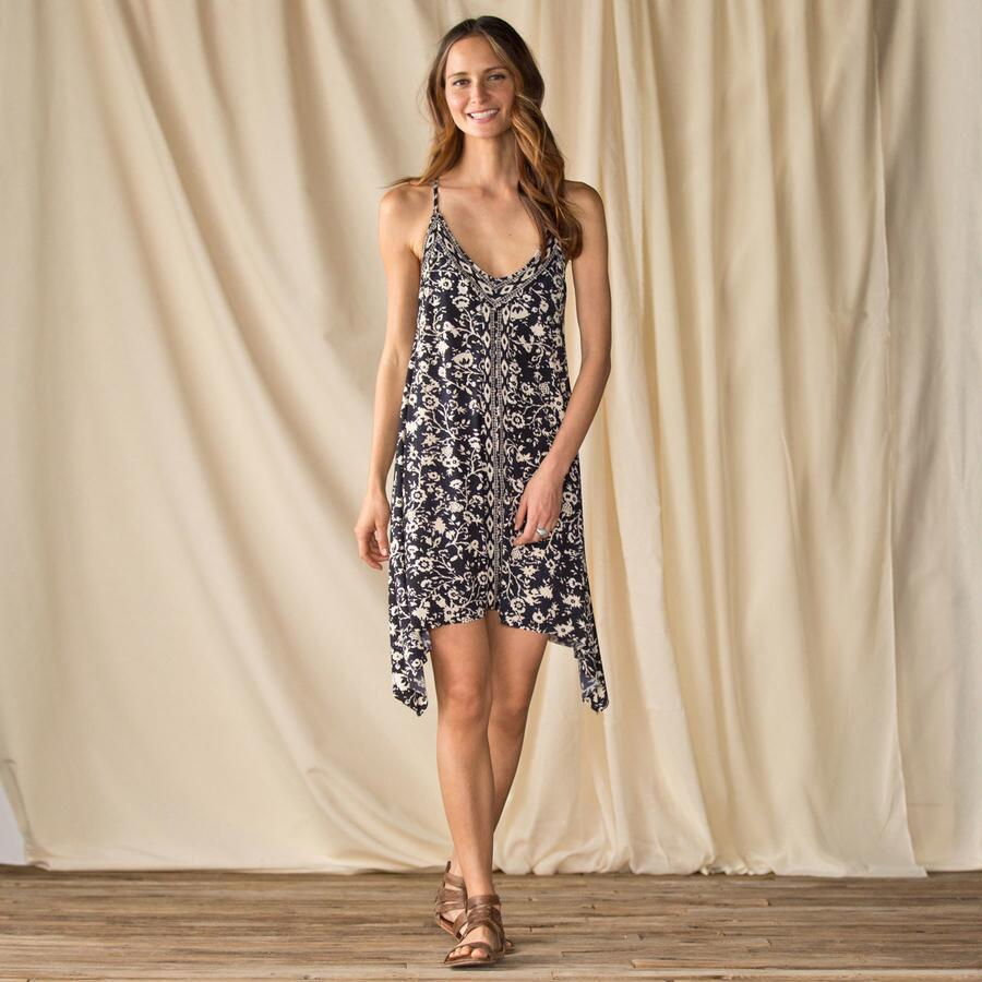 ROBIN PICCONE FLORA FLOWY DRESS