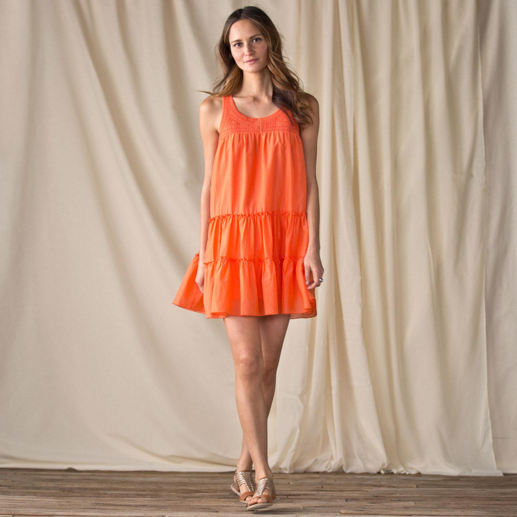 ORANGE DRESS: View 1