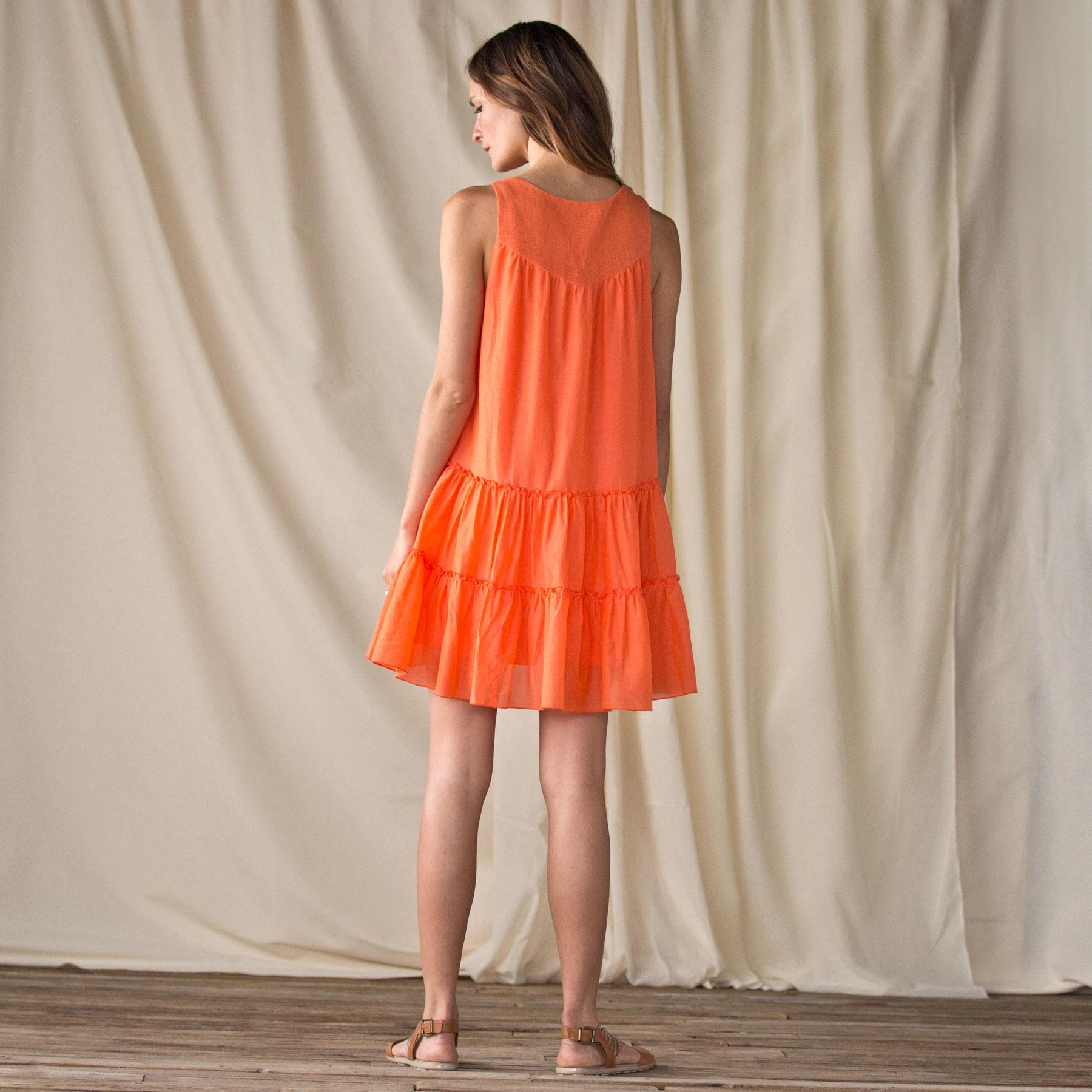 ORANGE DRESS: View 2