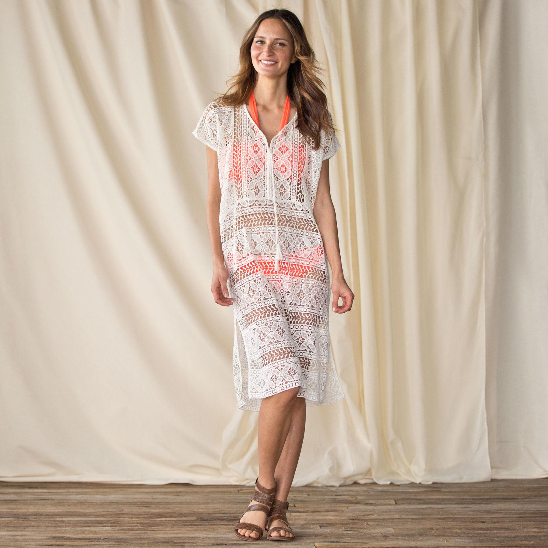 CROCHET DRESS-THE DESERT: View 1