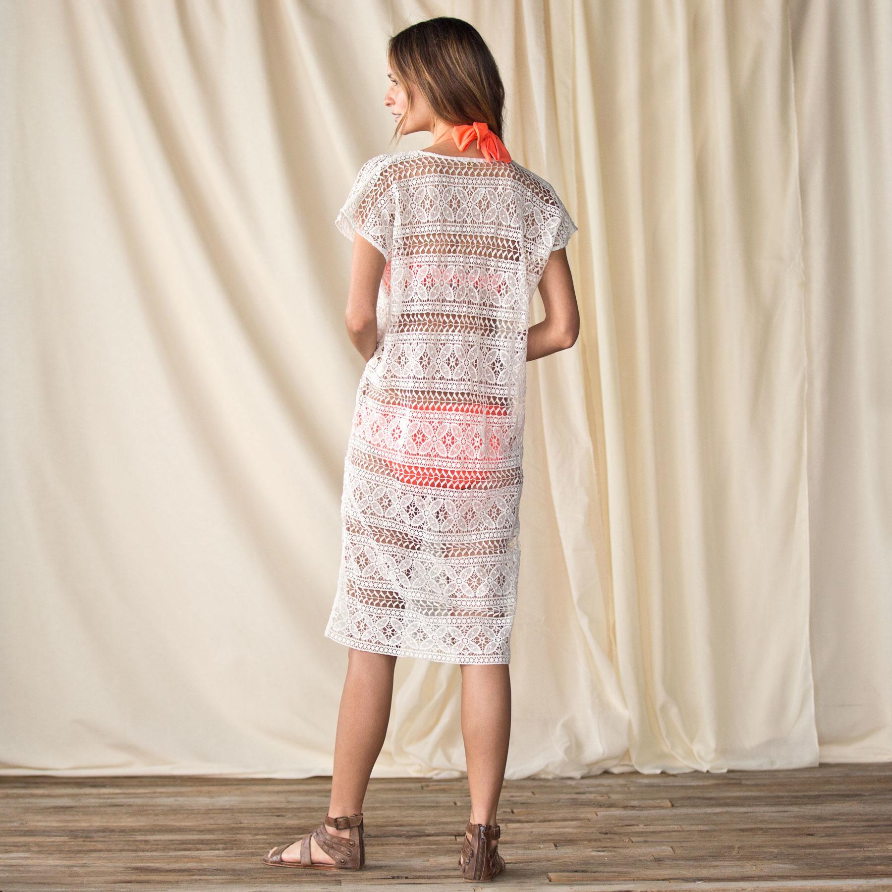 CROCHET DRESS-THE DESERT: View 2