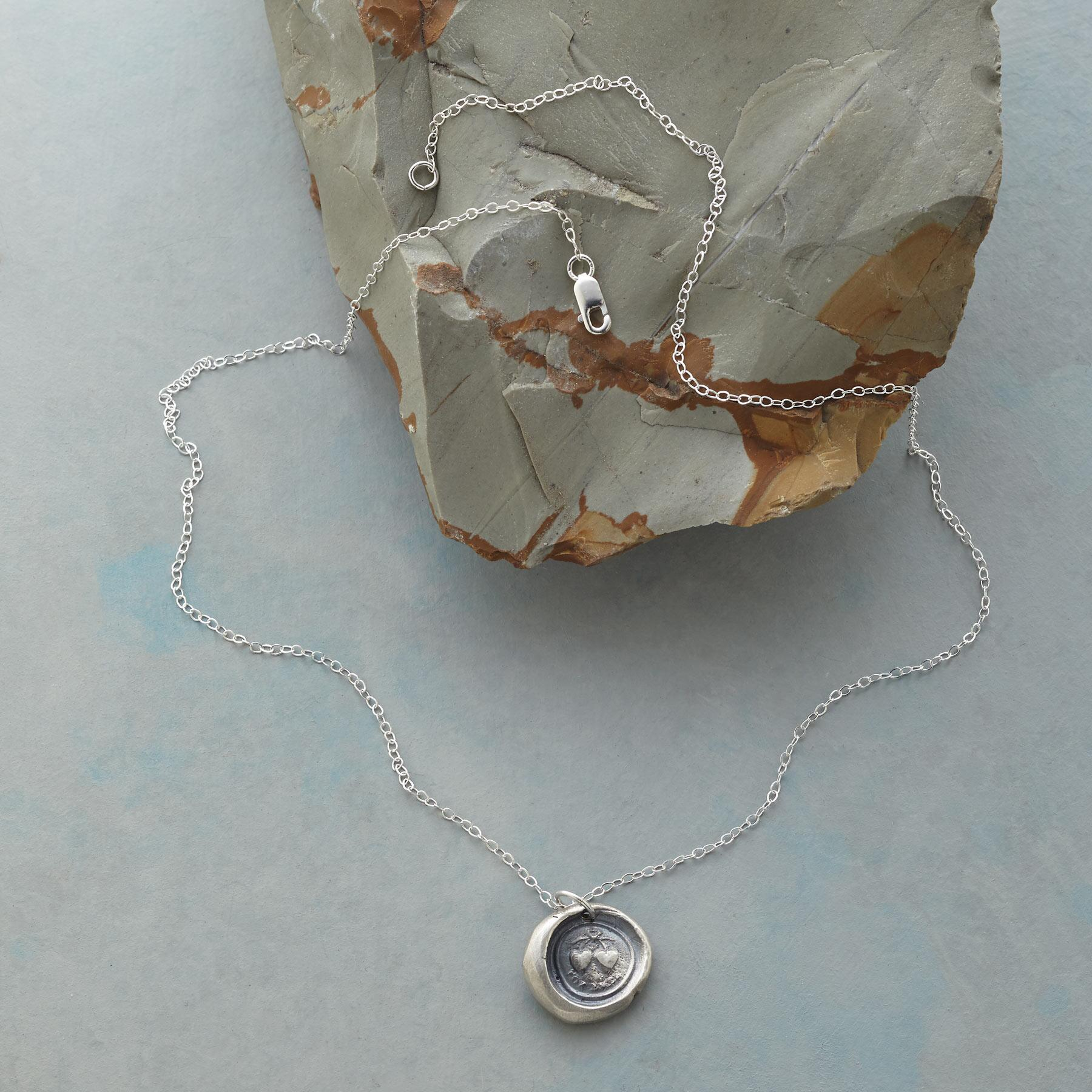 SEALED WITH LOVE NECKLACE: View 2