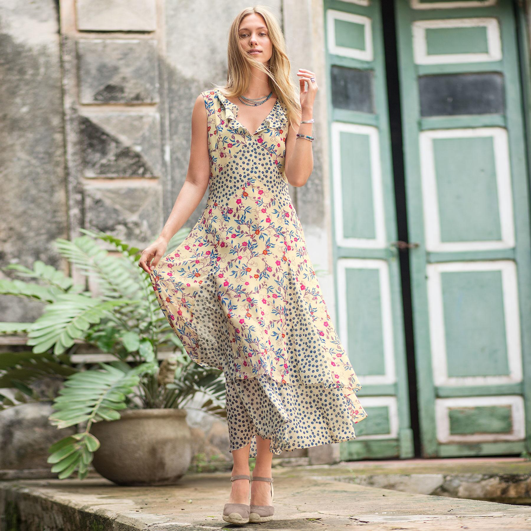 HEARTLAND IN BLOOMS DRESS: View 1