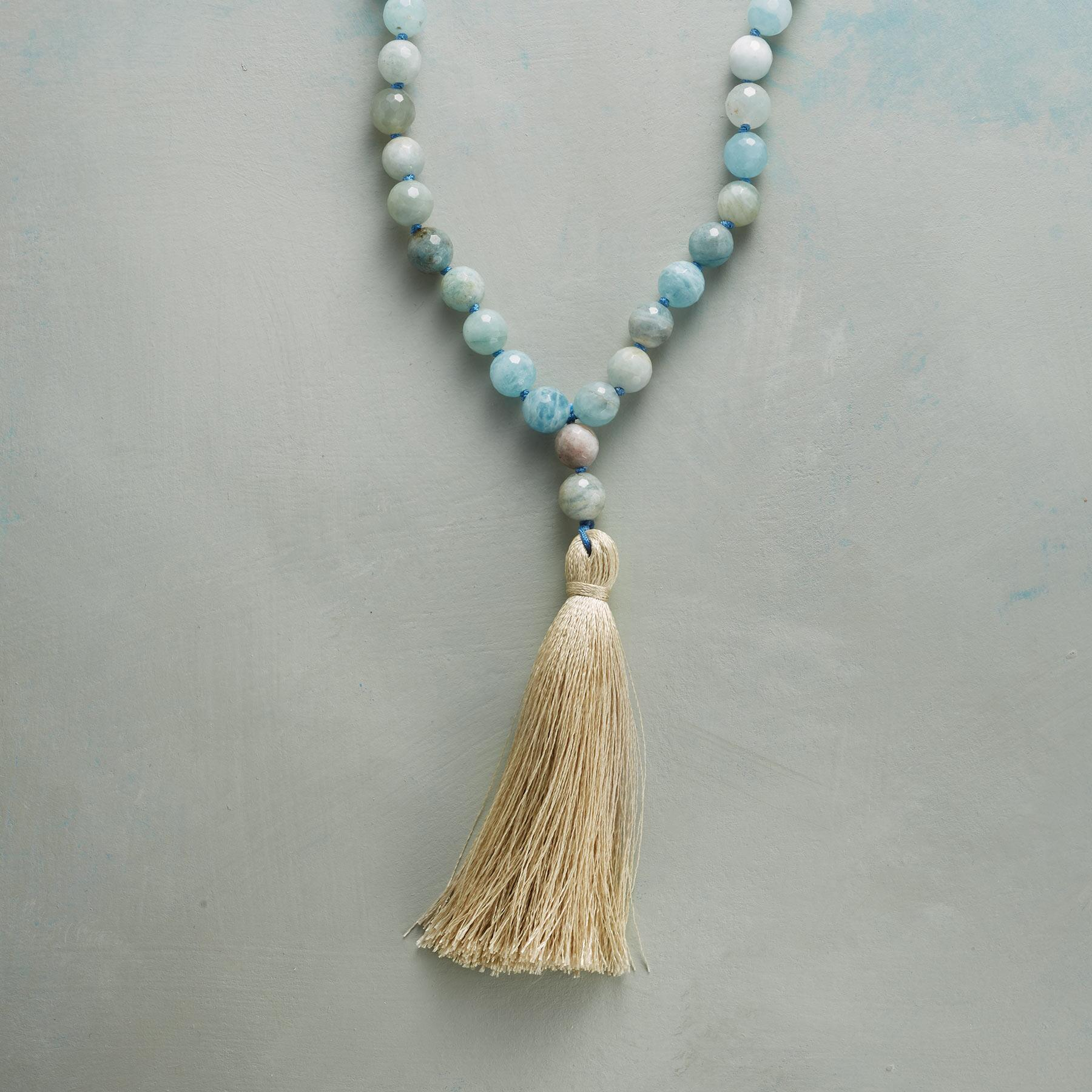 GOLDEN TASSEL NECKLACE: View 1