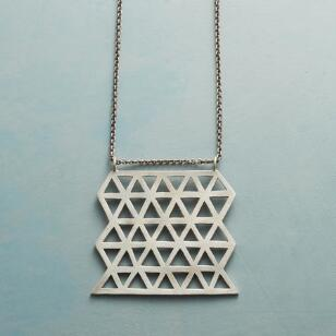 HAND CUT LATTICEWORK NECKLACE