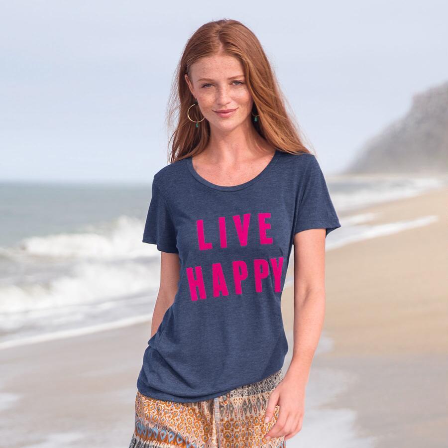 LIVE HAPPY TEE