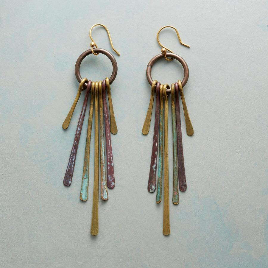BRASS TANGO EARRINGS