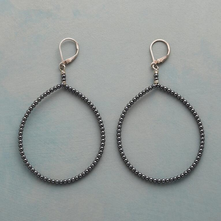 NIGHT HIKE HOOP EARRINGS