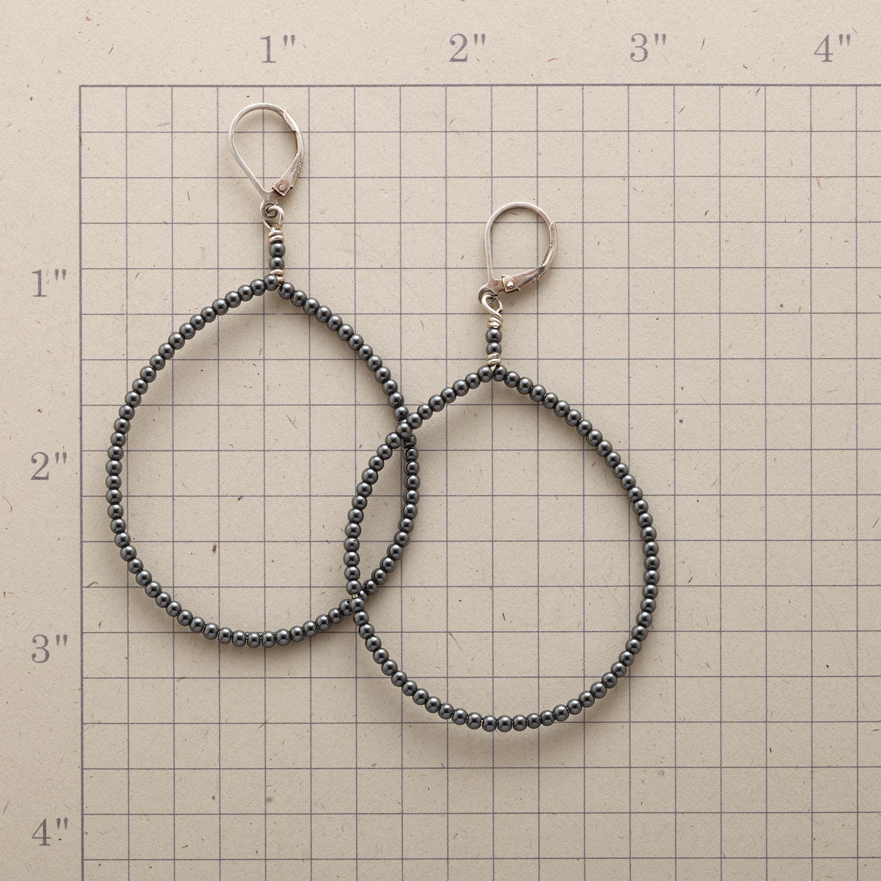 NIGHT HIKE HOOP EARRINGS: View 2
