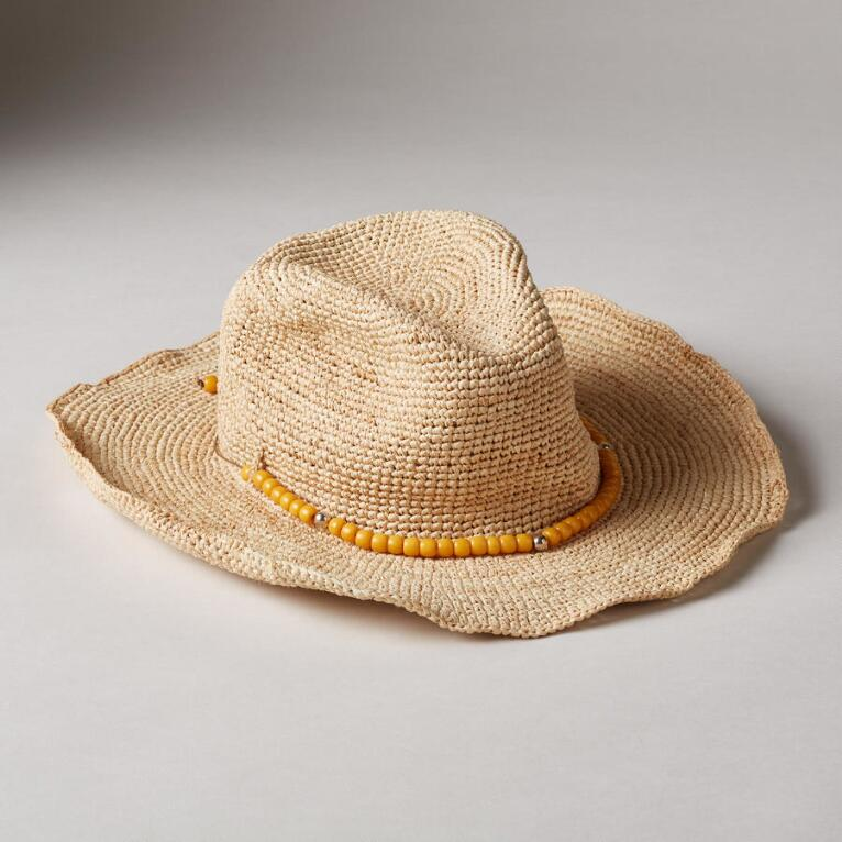 ORIOLE STRAW HAT