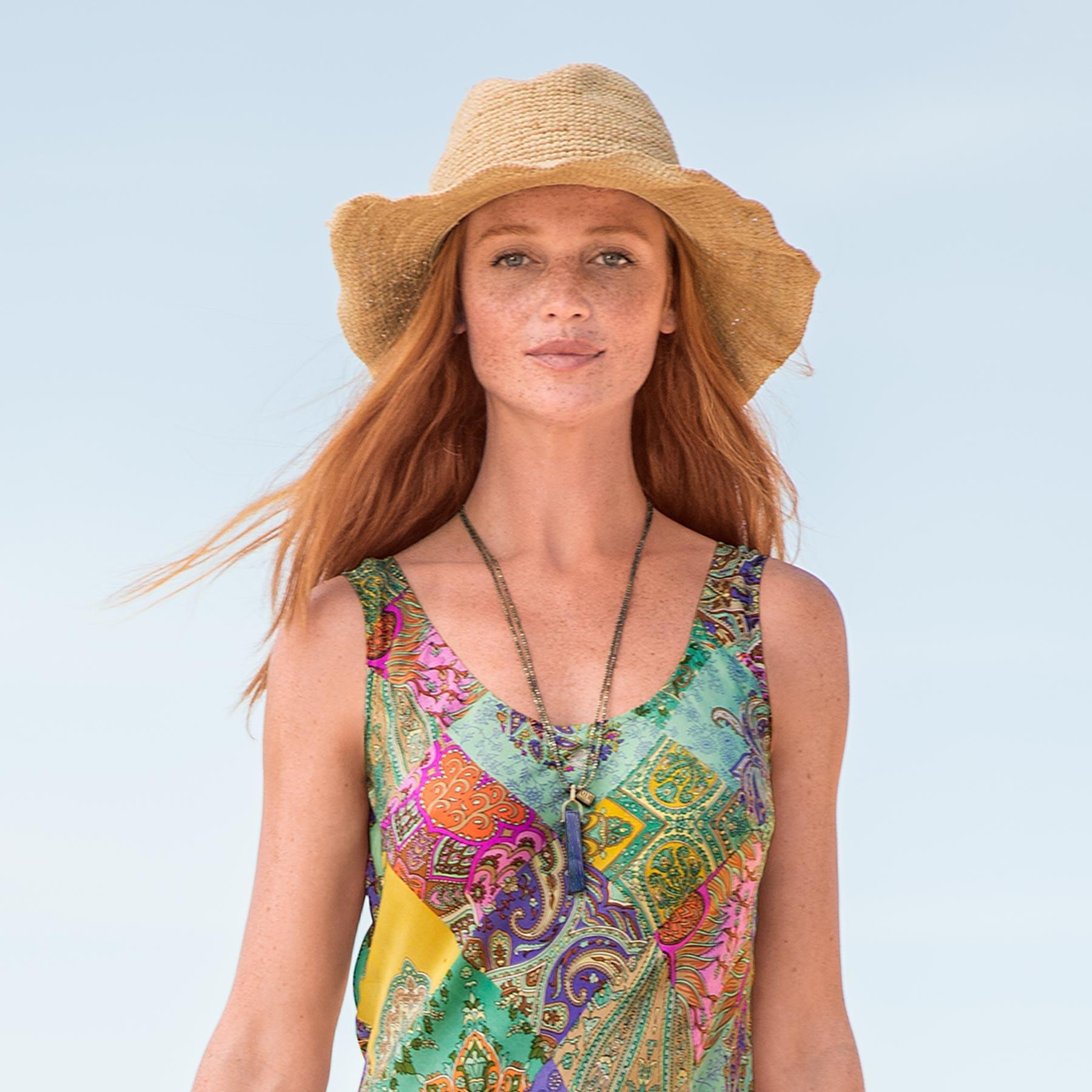 ORIOLE STRAW HAT: View 2