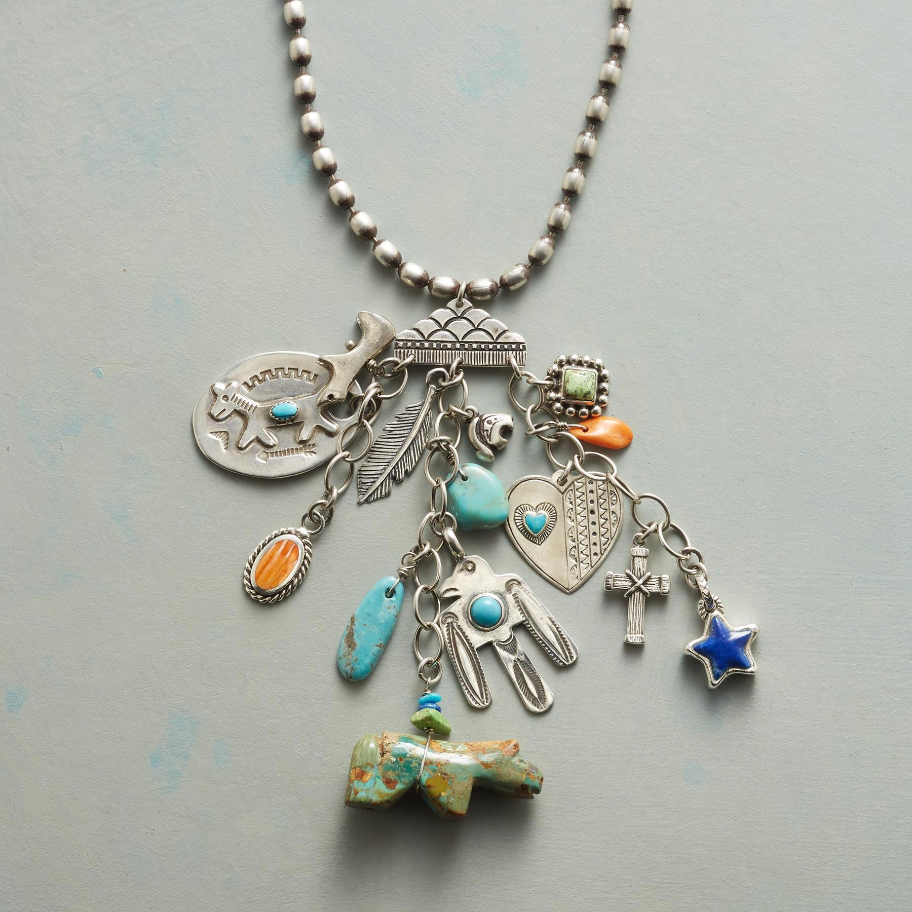 TRAVELING CHARM NECKLACE: View 1