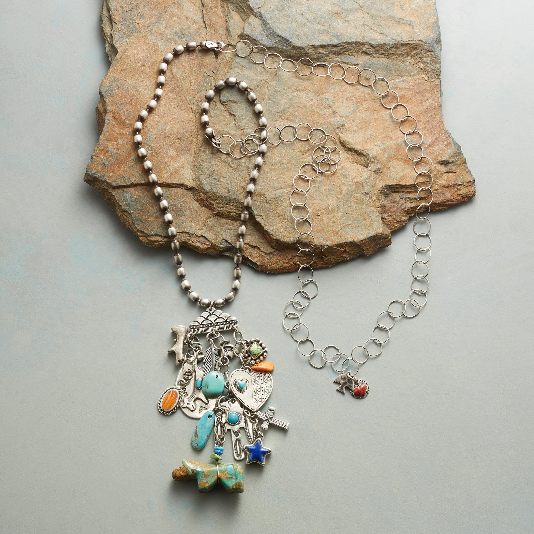 TRAVELING CHARM NECKLACE: View 2