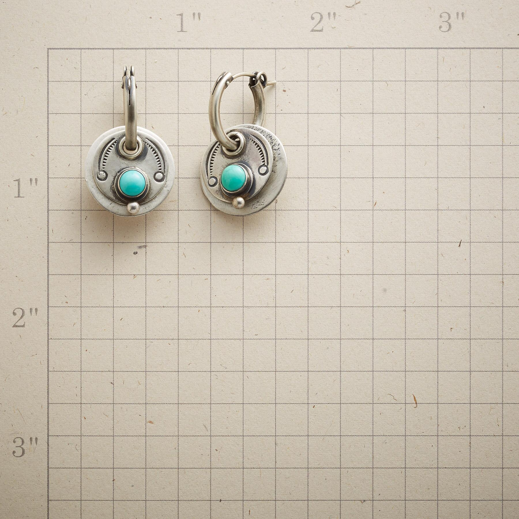 SANTA FE SUN EARRINGS: View 2