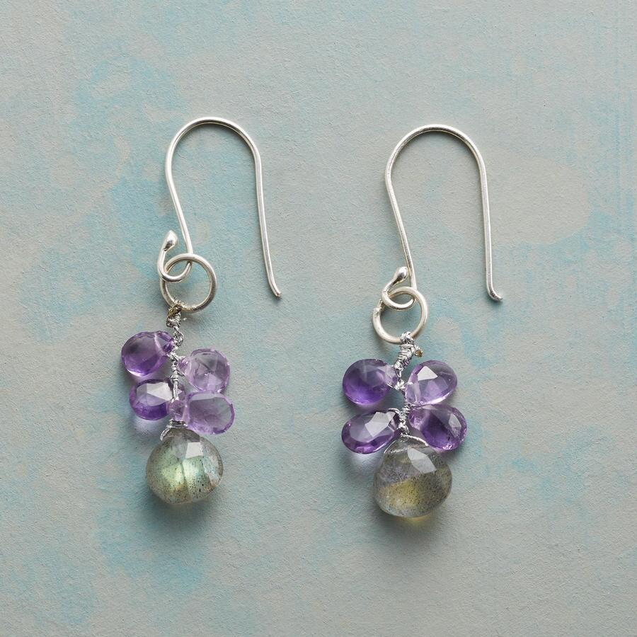 PLUM QUARTET EARRINGS