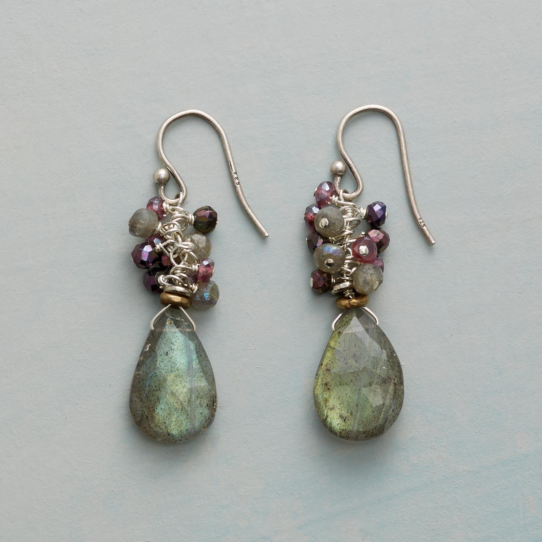 INTO THE MIST EARRINGS: View 1