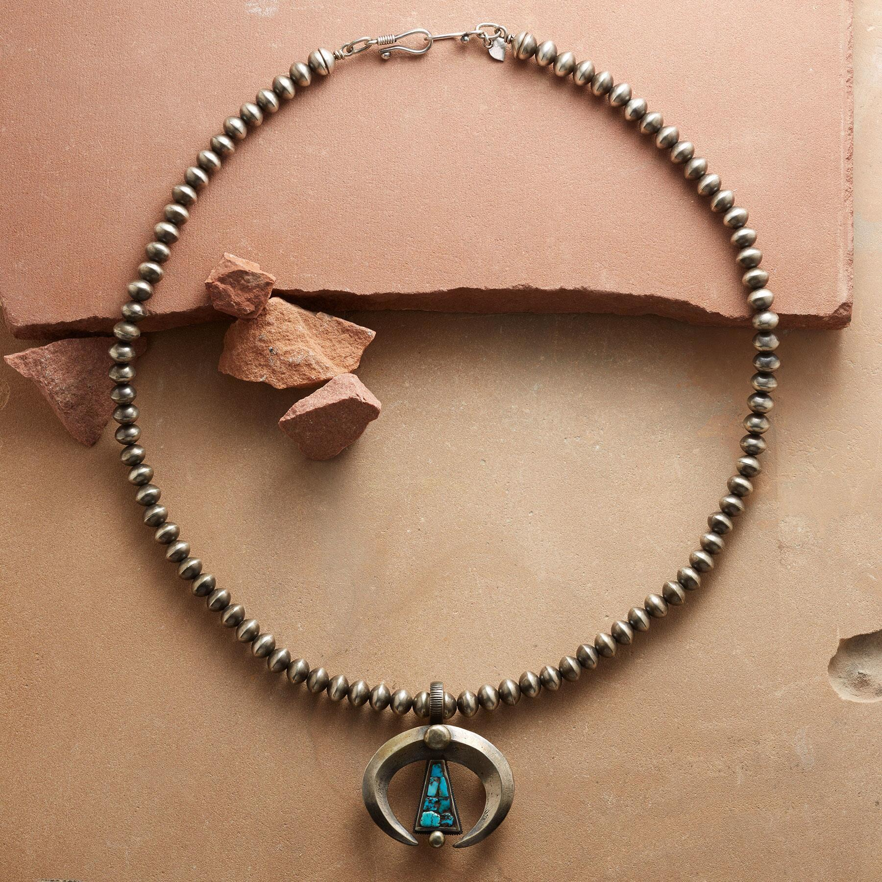 CONTEMPORARY STERLING NAJA NECKLACE: View 2