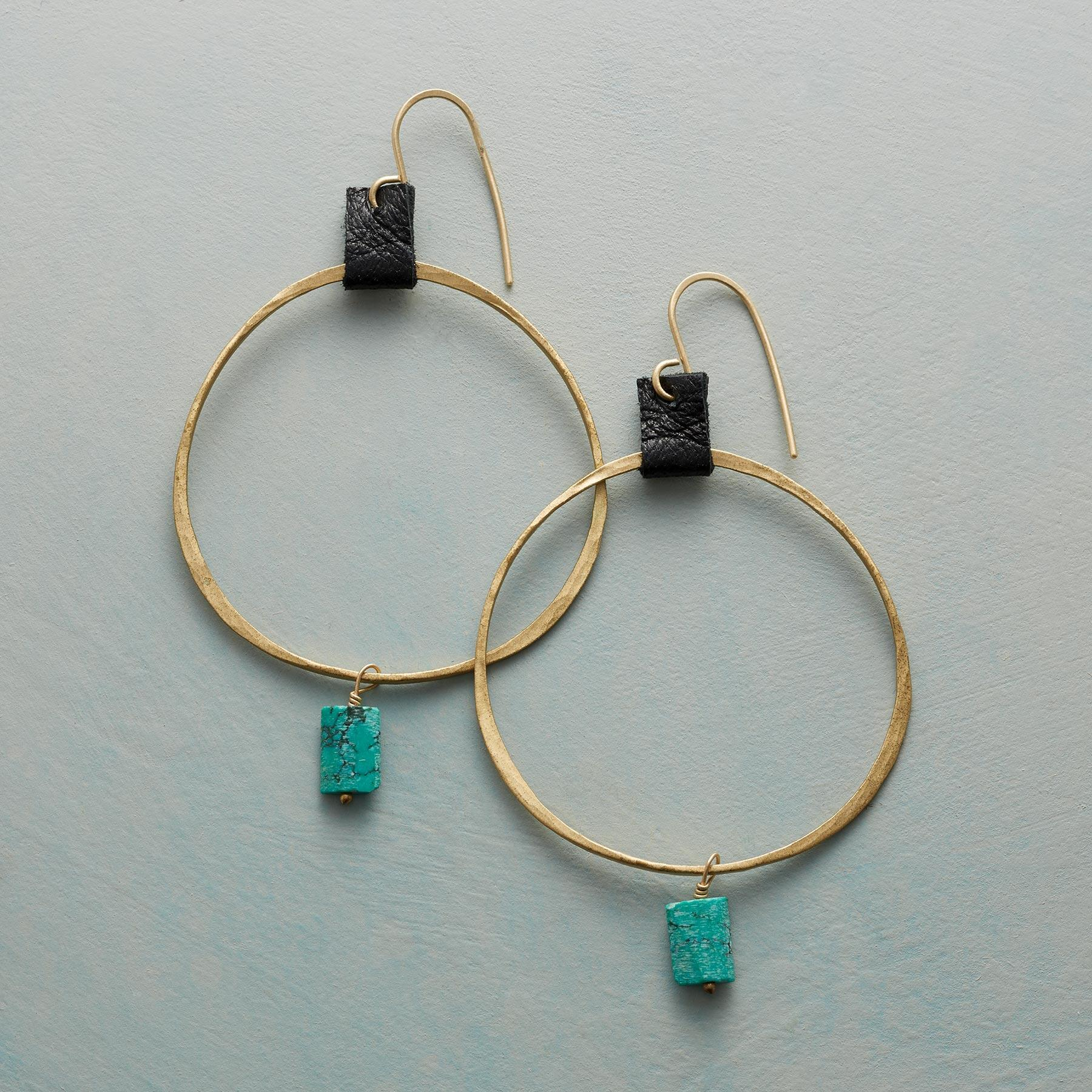 TAMSIN HOOP EARRINGS: View 1